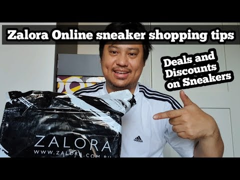 Zalora  Online Sneaker purchase using discount codes