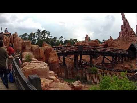 Walt Disney World Magic Kingdom Frontierland Walkthrough 2012