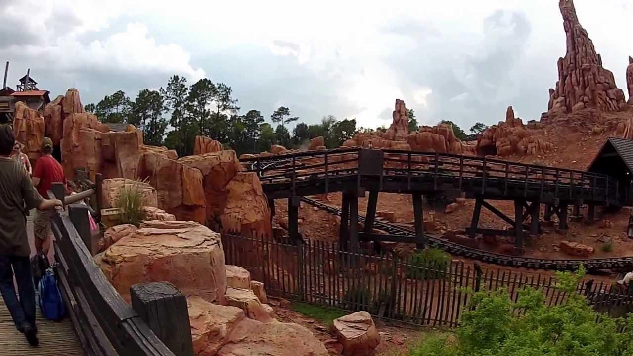 Walt Disney World Magic Kingdom Frontierland Walkthrough ...