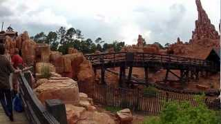 Walt Disney World Magic Kingdom Frontierland Walkthrough 2012