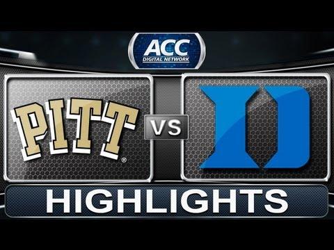 2013 ACC Football Highlights   Pittsburgh Vs Duke   ACCDigitalNetwork