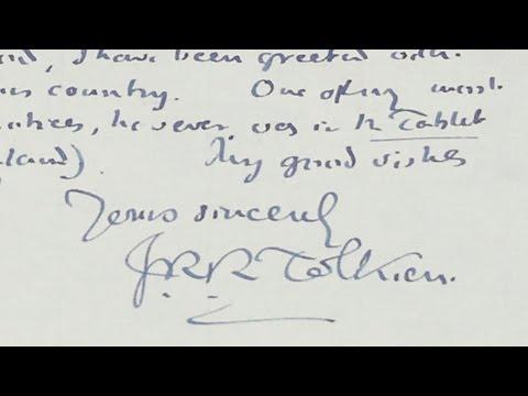 1957 J.R.R. Tolkien Letter | Appraisal | Charleston, Hour 3