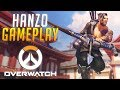 Facereveal! Overwatch Goldenbow gameplay with Hanzo | Simon plays (swe)