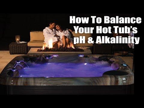 Hot Tub Tutorial  -  Balancing Your Hot Tub Water PH & Alkalinity