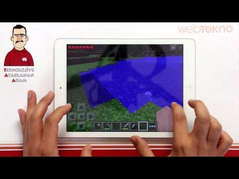 Teknolojiye Atarlanan Adam - Minecraft Pocket Edition
