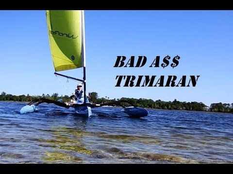 Sexy Fast Sailboat, Trimaran Windrider 16