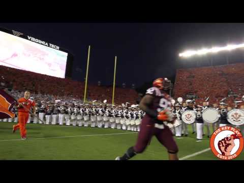 The Virginia Tech Hokies enter Lane Stadium to Enter Sandman Against the Ohio State Buckeyes in 2015