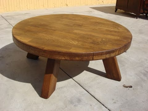 Round Rustic Coffee Tables - Round Rustic Coffee Tables - YouTube