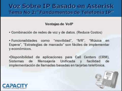 Fundamentos de VoIP - Parte 1 de 2 - Curso de Asterisk PBX - Capacity