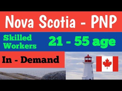 Nova Scotia Pnp For Canada's PR In 2021