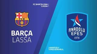 #EuroLeague 15. Hafta: Barcelona Lassa - Anadolu Efes