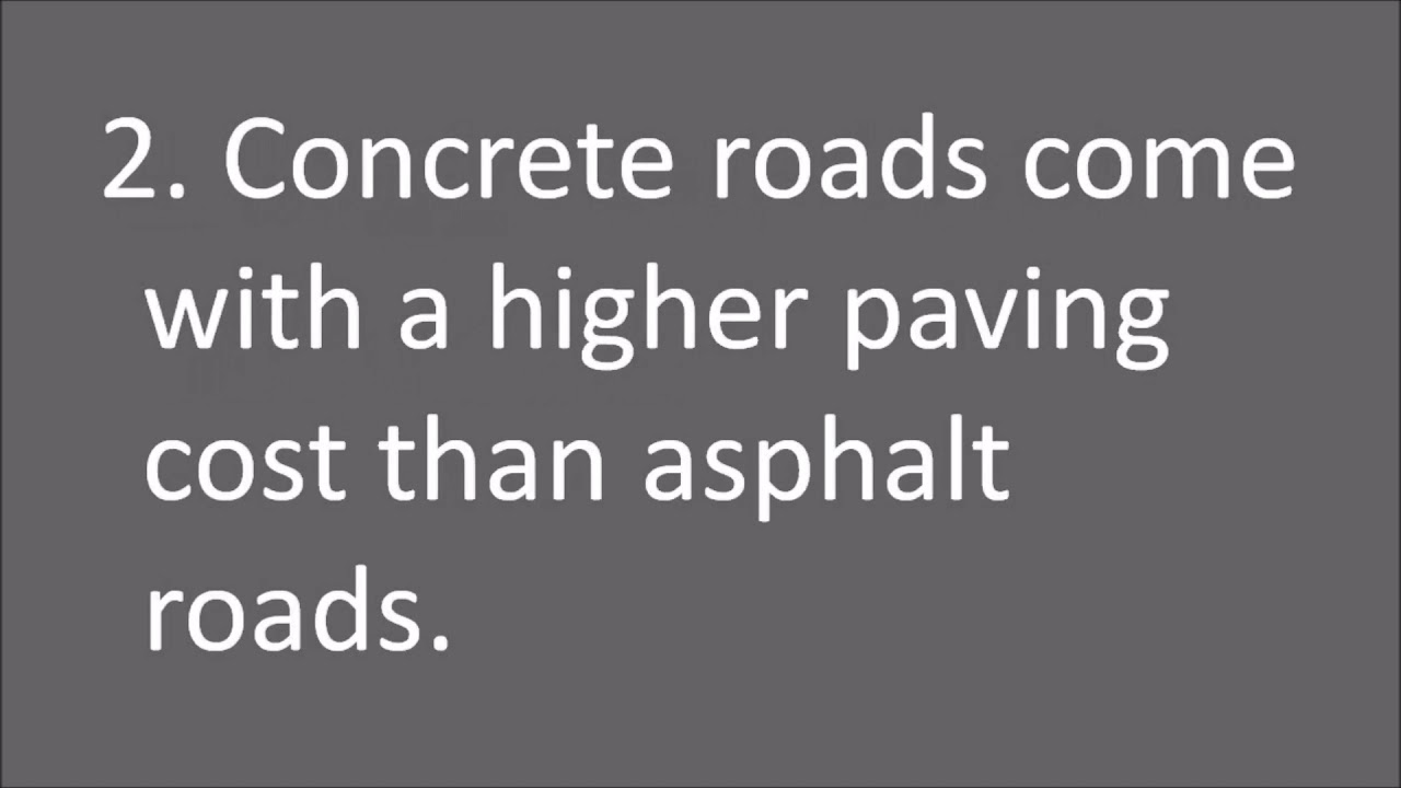 advantages and disadvantages of cement