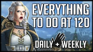 Everything You Should Get Done At 120 In BFA | WoW Battle for Azeroth