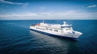 Ro-Ro/Passenger Ship Hammershus - 4K VIDEO