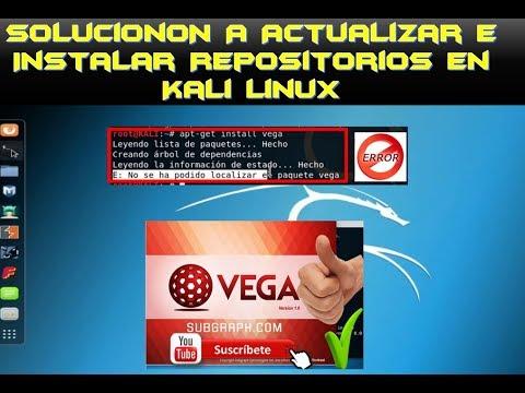 ► COMO SOLUCIONAR, EL INSTALAR REPOSITORIOS EN KALI Linux [FUNCIONA😱](2018)