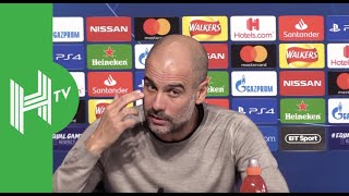 Pep Guardiola: I didn't come here to win the Champions League!