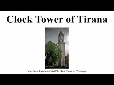 Clock Tower of Tirana