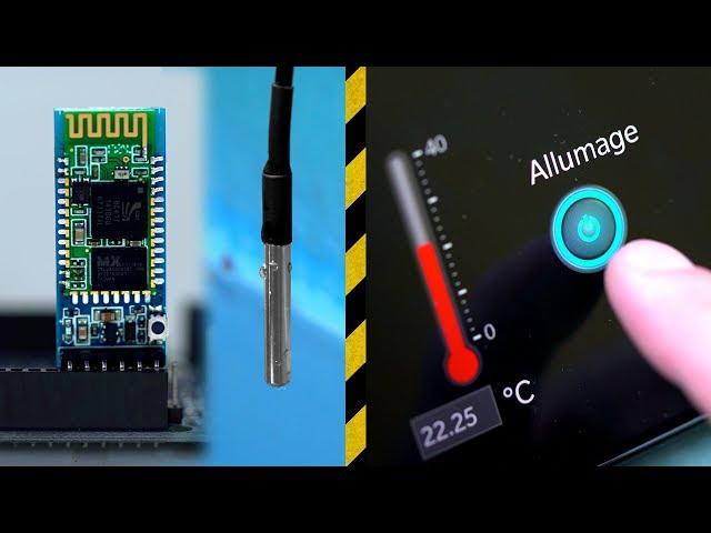 Contrôler sa maison en Bluetooth ! (Arduino) - Vlog Bricolage 21