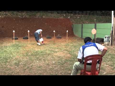 STARS SHOOTERS @ INDONESIA OPEN 2011 - Shooters : Cakra - Stage 9