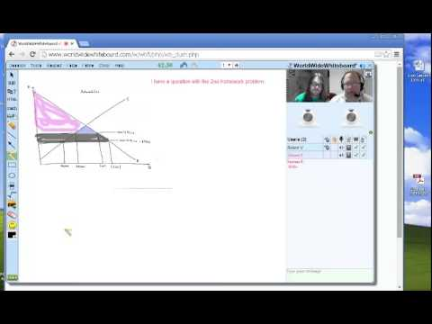 NetTutor®/ WorldWideWhiteboard® Economics Session