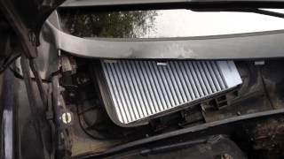 Changement du filtre habitacle Renault Laguna 1