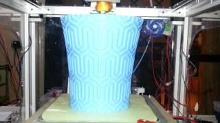 Miracube LC - A CoreXY 3d Printer Laser Cutted - Second run (Video 5 il vaso)