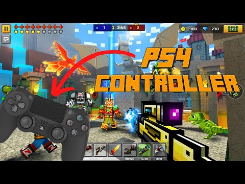 (Easy 3-Step) How To Connect A Controller To Pixel Gun 3D