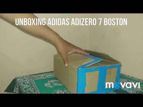 unboxing-running-shoes-adidas-adizero-7-boston-boost