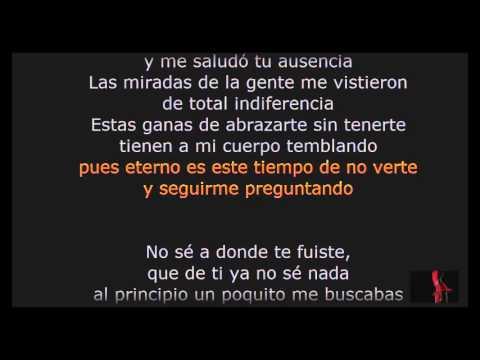 El Chaval Tres Semanas Con Letra Lyrics Completa