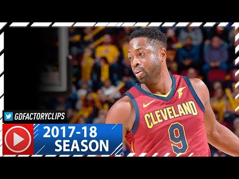 Dwyane Wade Full Highlights vs Hawks (2017.11.05) - 25 Pts, 11 Reb, 6 Ast off the Bench