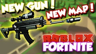 *HUGE* NEW UPDATE TO ROBLOX FORTNITE!! (New Map POI, NEW GUN, and MORE!) / Island Royale