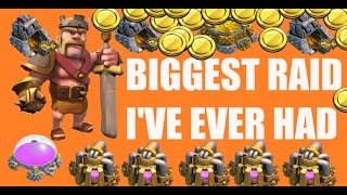 Clash of Clans - BIGGEST RAID I'VE EVER GOTTEN 1.1 million in LOOT: Lets Play Episode 42