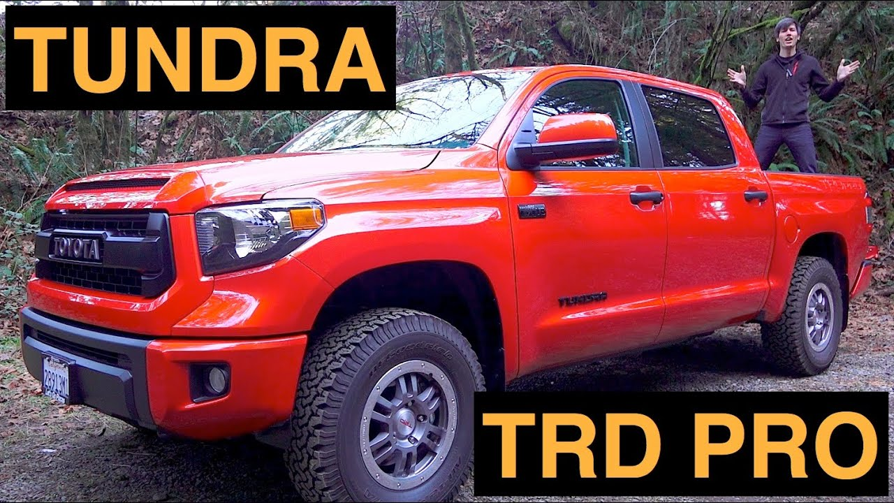 2015 toyota tundra trd pro review test drive off road youtube. Black Bedroom Furniture Sets. Home Design Ideas