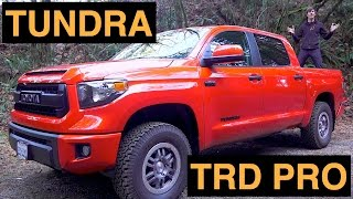 2015 Toyota Tundra TRD Pro - Review & Test Drive + Off-Road