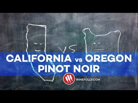 California vs Oregon Pinot Noir