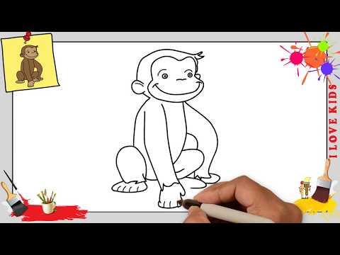 Affe Zeichnen Schritt Fur Schritt Fur Anfanger Kinder Zeichnen