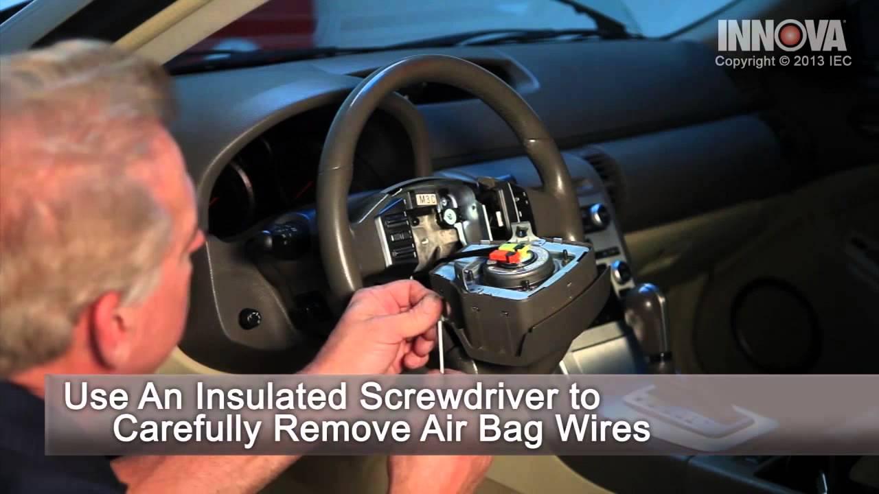 How To Change Steering Angle Sensor 2005 Infiniti G35