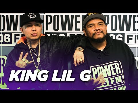 King Lil G- First daughter on the way, Latinos in Hip Hop, Being managed by his Wifey and more!