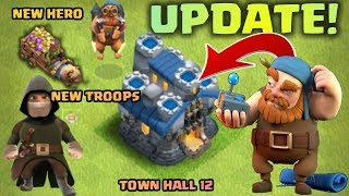 Clash Of Clans Upcoming Update Concept !😍 New Troops ,Hero ,Defenses And More