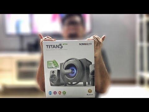 Unboxing/Review: SONICGEAR Titan 5 BTMI Bluetooth Speaker!