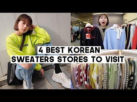 4 BEST Korean Sweaters & Cardigans Stores You Must Visit (Hongdae) | Q2HAN