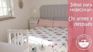 Decorar un dormitorio, el antes y después paso a paso