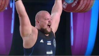 SEIM Mart (+105kg)  ATTEMPTS 191+253kg /  2017 WEIGHTLIFTING WORLD CHAMPIONSHIPS