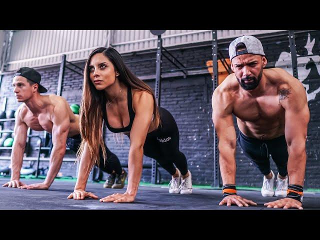 Pectorales En Casa Sin Equipo 🔥 4 Min Home chest workout (No Equipment)