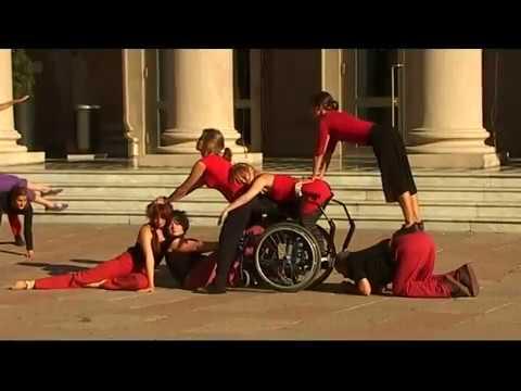 Espectáculo DanceAbility Sitio-específico Uruguay (Urban Intervention Performance))