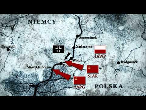"""film """"Wał Pomorski 1945"""" - dokument fabularyzowany"""