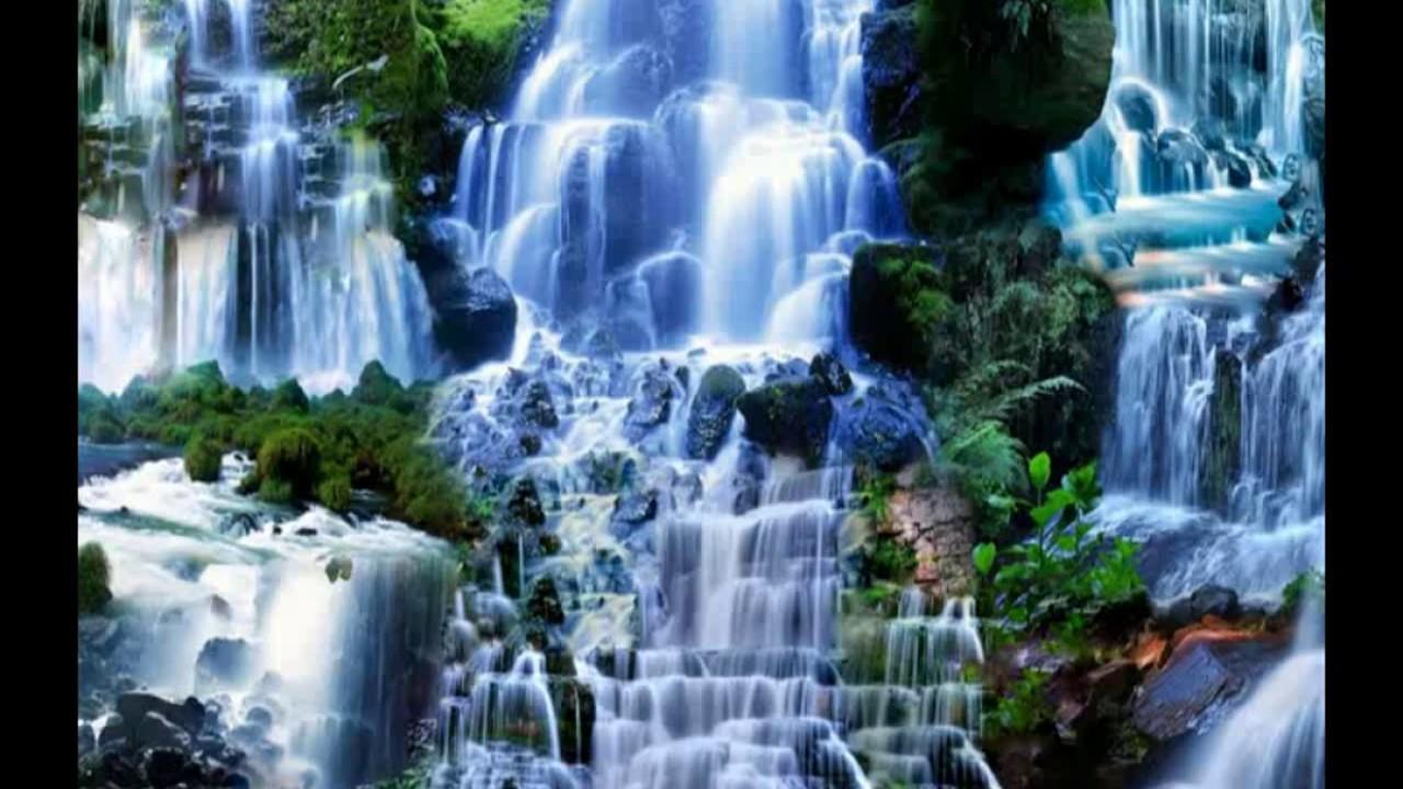 Beautiful Waterfalls Scenery Wallpaper Images