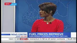 Parliament suspends 16% VAT on fuel for two years