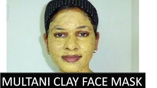 MULTANI [Fuller's earth] CLAY Face mask to control ACNE, PIMPLE, SCARS Thumbnail