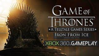Game of Thrones: Episode One - Iron From Ice Gameplay (XBOX 360 HD)